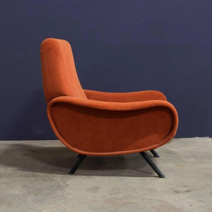 Sedia Lady vintage di Marco Zanuso per Artflex in vendita su Pamono