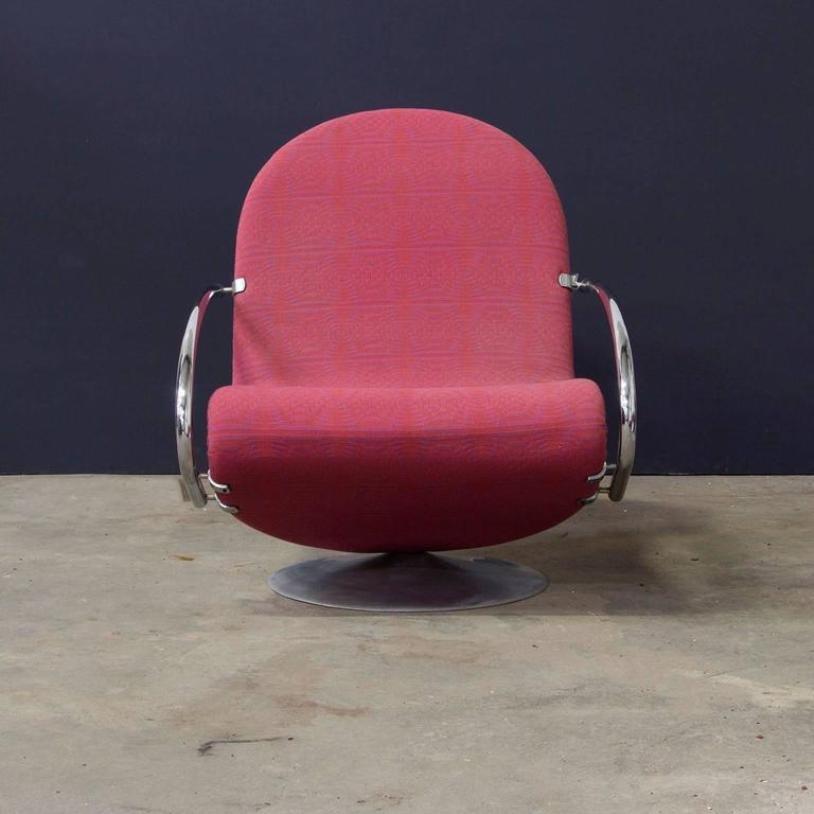 1 2 3 sessel von verner panton f r fritz hansen bei pamono kaufen. Black Bedroom Furniture Sets. Home Design Ideas