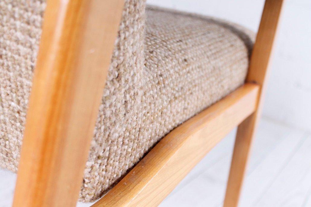 deutscher vintage kirschholz cocktail stuhl 1950er bei pamono kaufen. Black Bedroom Furniture Sets. Home Design Ideas