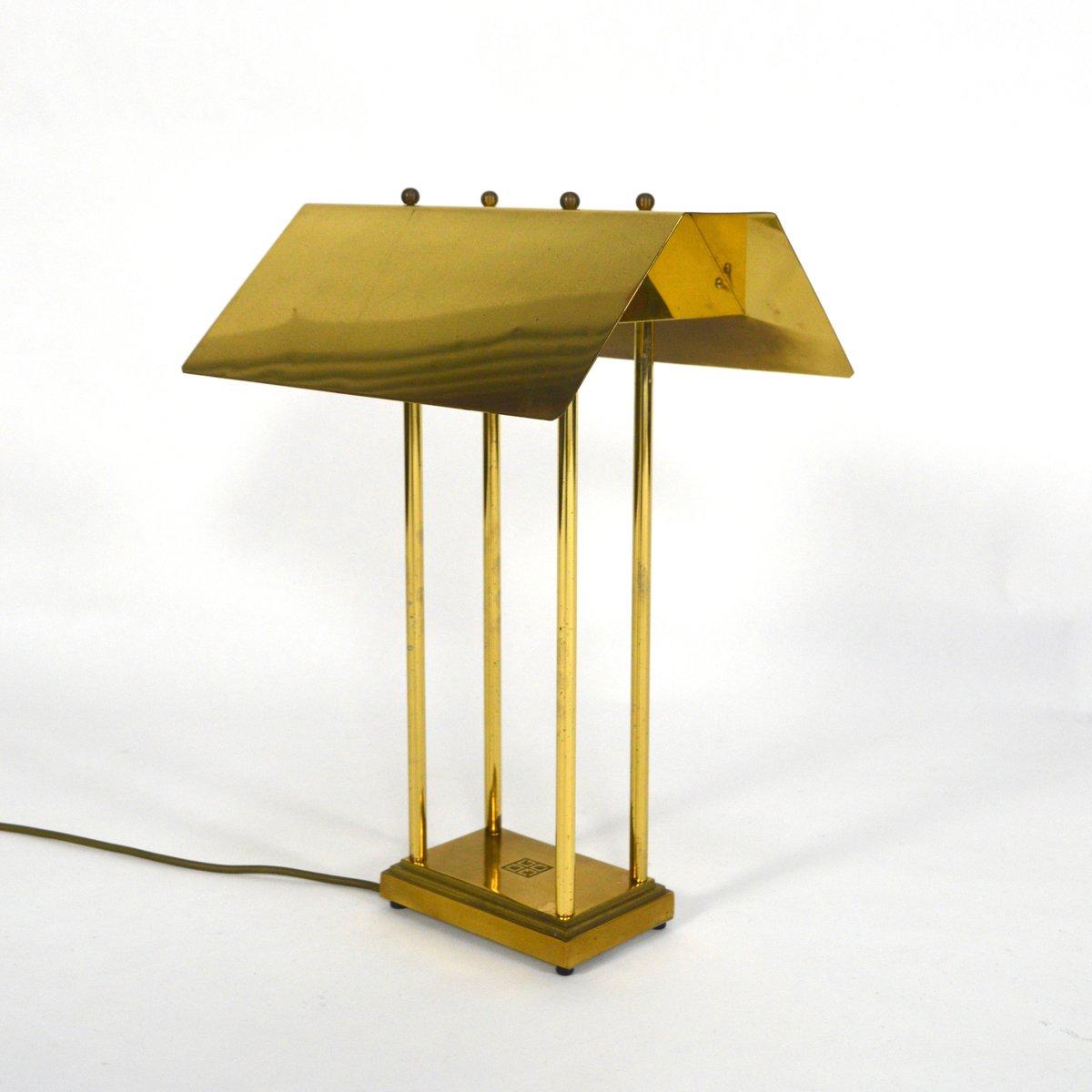 messing tischlampe von peter ghyczy 1980er bei pamono kaufen. Black Bedroom Furniture Sets. Home Design Ideas