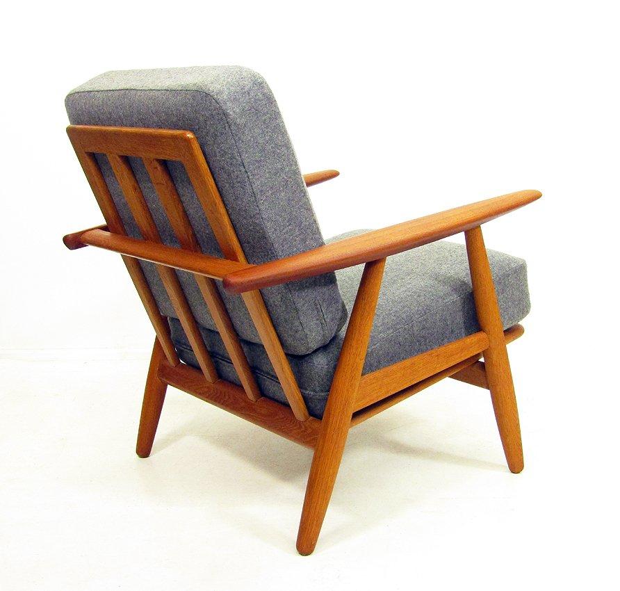 ge 240 cigar polsterstuhl von hans wegner bei pamono kaufen. Black Bedroom Furniture Sets. Home Design Ideas