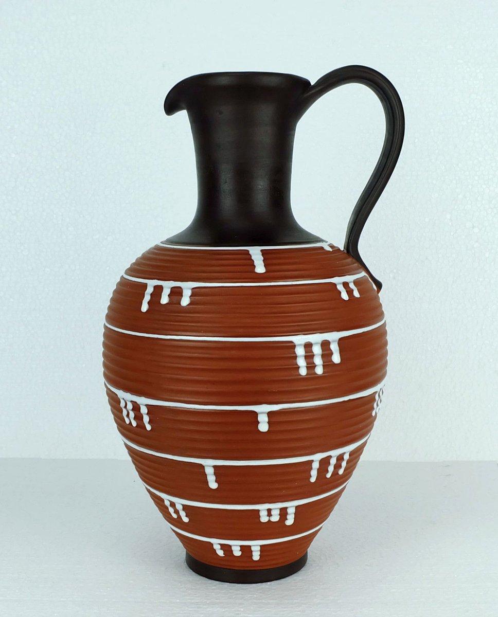 Vintage large jug vase from ilkra keramik for sale at pamono vintage large jug vase from ilkra keramik reviewsmspy