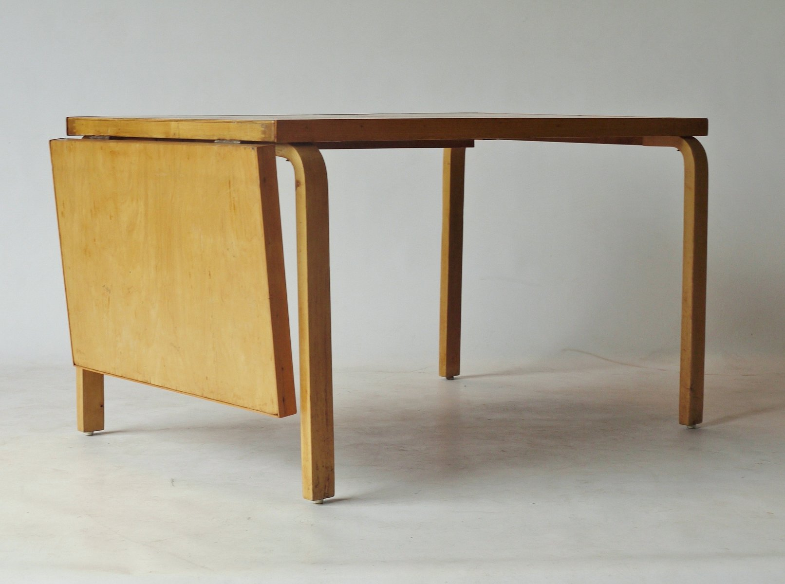 drop leaf extendable dining table by alvar aalto for artek 1940s - Dining Table Leaf