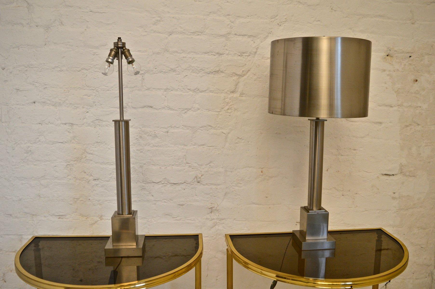 Steel table lamps by maison charles set of 2 en venta en pamono steel table lamps by maison charles set of 2 aloadofball Choice Image