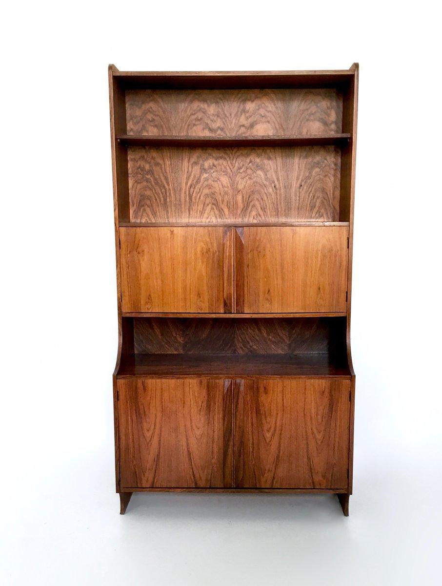 italienisches b cherregal aus holz 1960er bei pamono kaufen. Black Bedroom Furniture Sets. Home Design Ideas