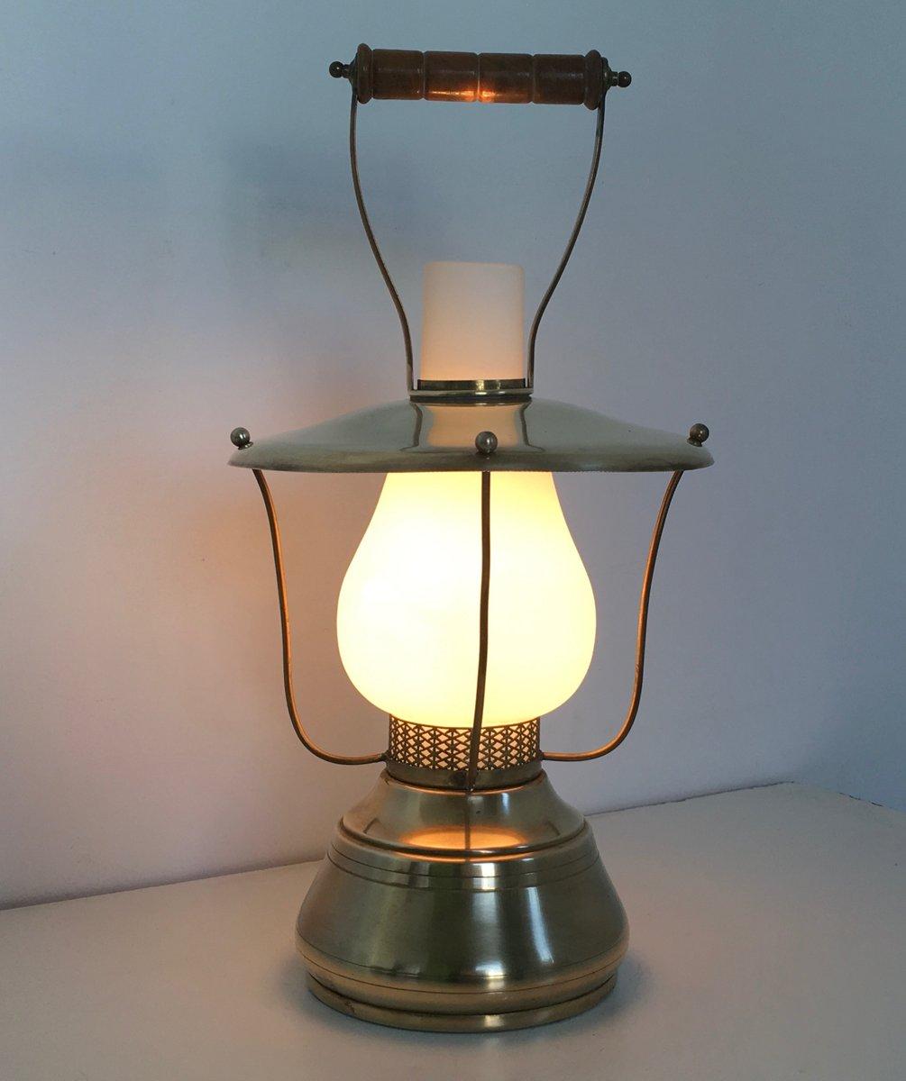 Italian Lantern Table Lamp, 1950s For Sale At Pamono