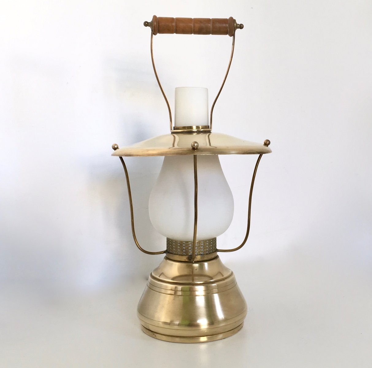 Italian Lantern Table Lamp 1950s For Sale At Pamono