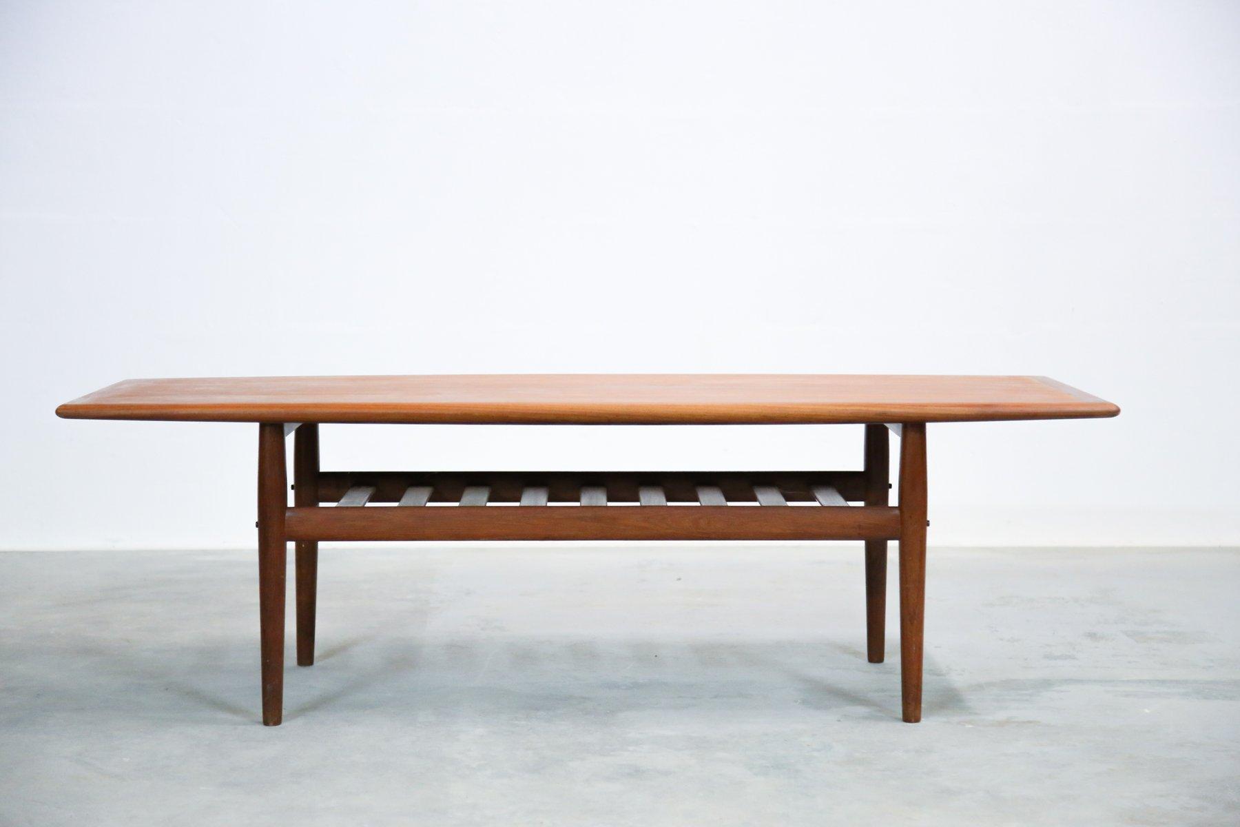 teak coffee table. Danish Teak Coffee Table By Grete Jalk For Glostrup