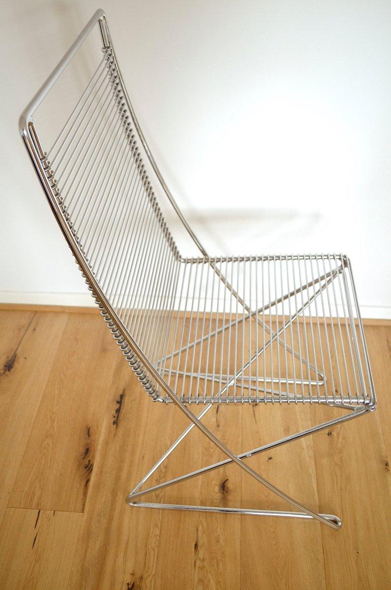 vintage metall st hle von till behrens f r meyer metallm bel 4er set bei pamono kaufen. Black Bedroom Furniture Sets. Home Design Ideas