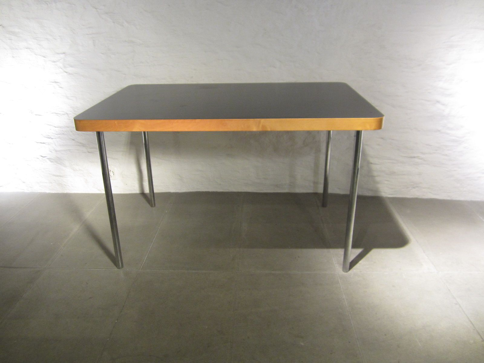 Small Vintage Dining Table By Marcel Breuer For Embru Wohnbedarf, 1940s