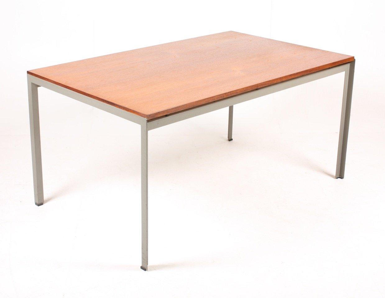 Tavolo Da Lavoro Per Estetista : Tavolo da lavoro con ripiano in teak di poul kjærholm per rud