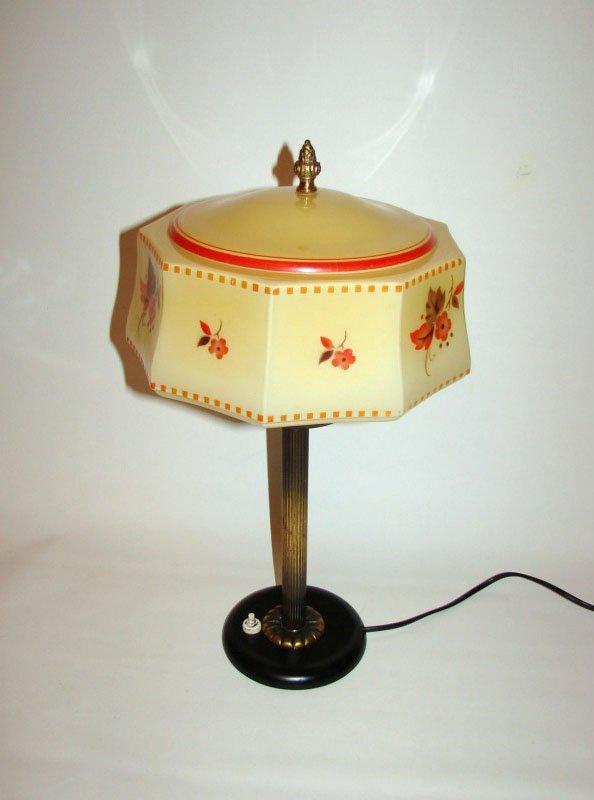 Messing Lampe Vintage - Vintage Art Deco Messing Lampe bei Pamono kaufen