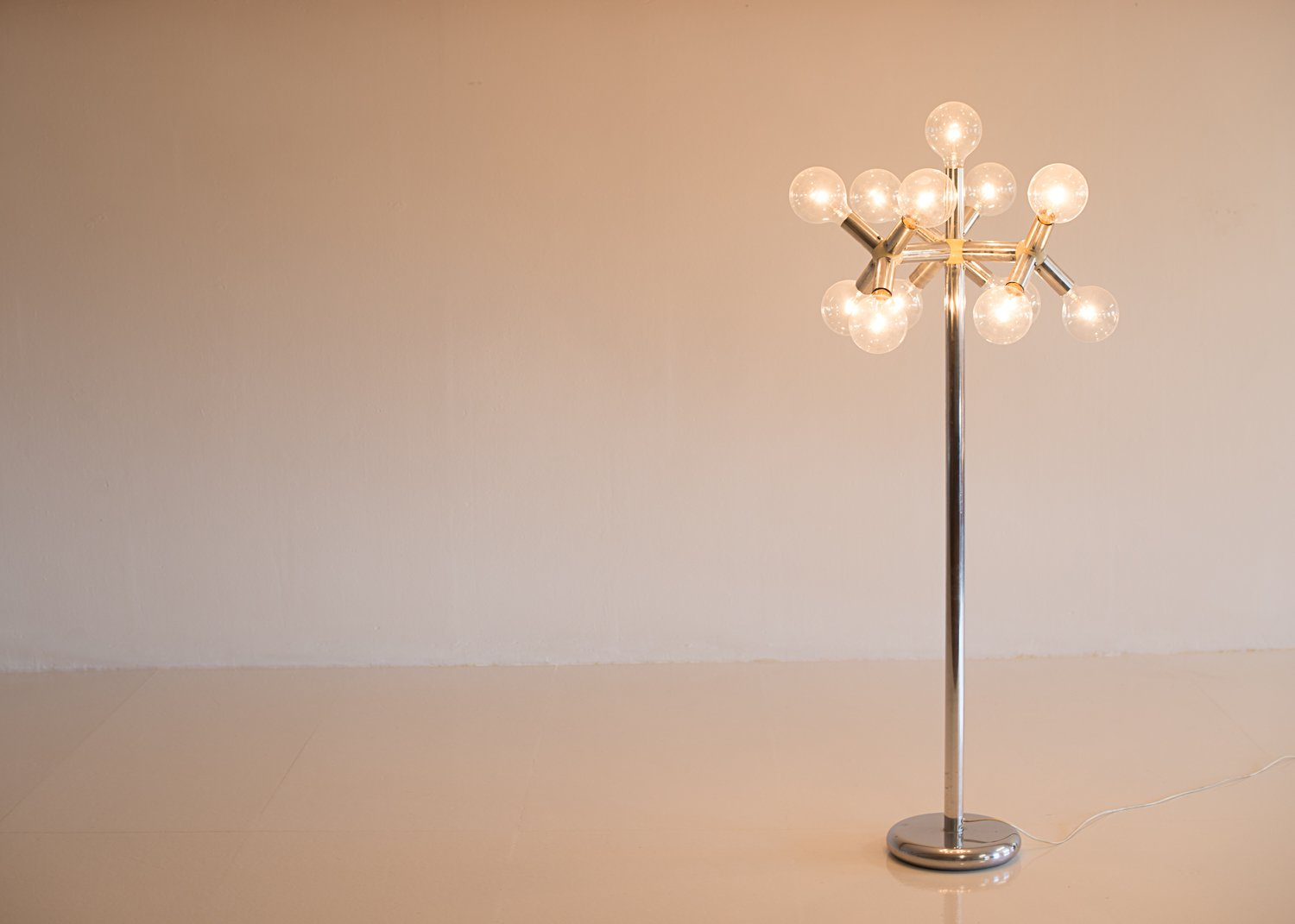 Space Age Atomic Floor Lamp by Trix & Robert Haussmann for Swiss ...