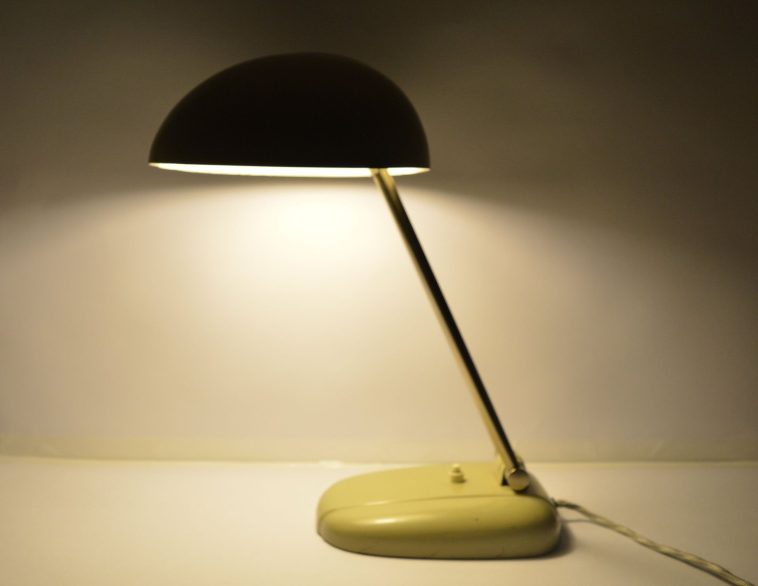Swiss Table Lamp by Siegfried Giedion for BAG Turgi, 1930s for sale ...