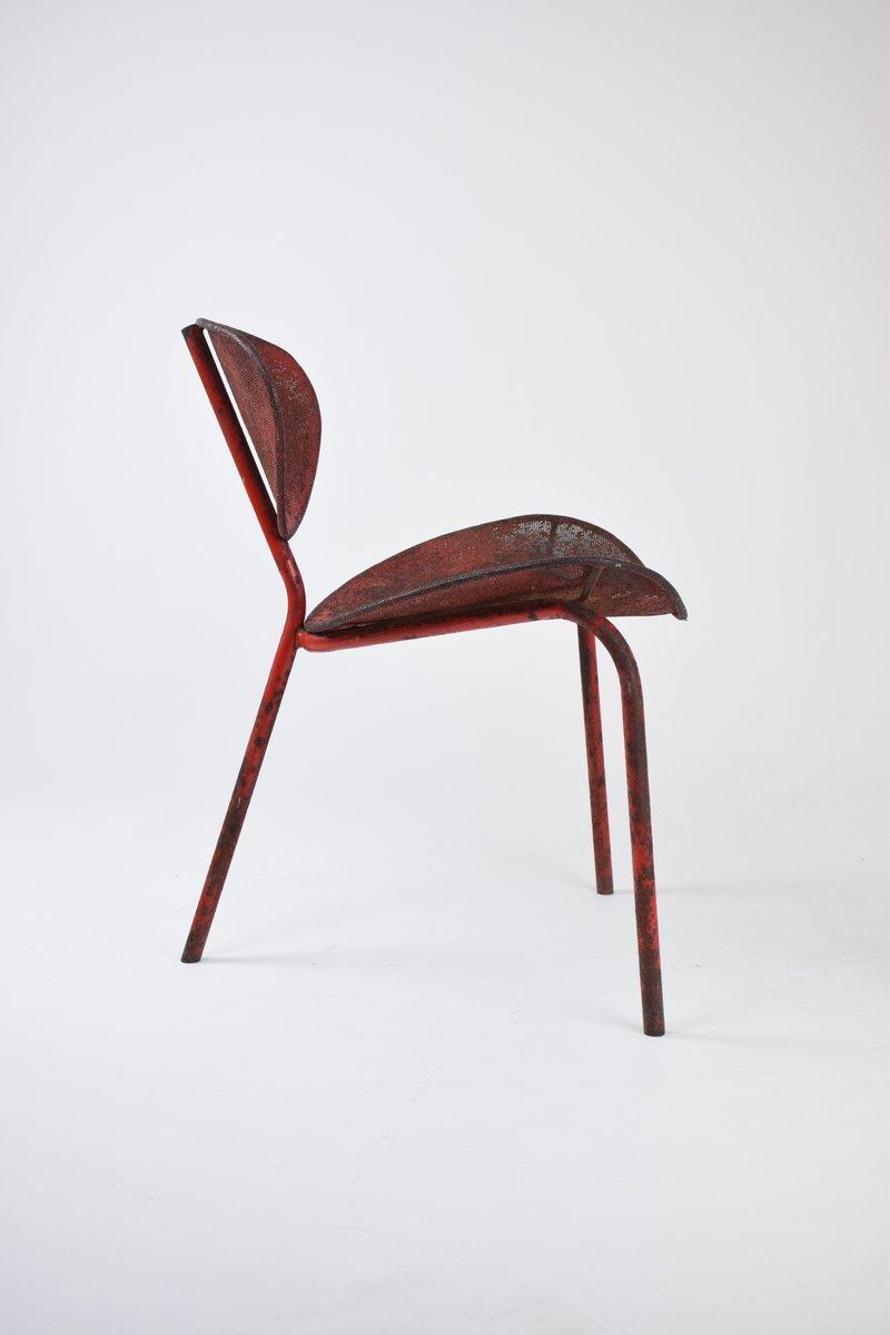 originaler nagasaki stuhl von mathieu mategot 1954 bei pamono kaufen. Black Bedroom Furniture Sets. Home Design Ideas
