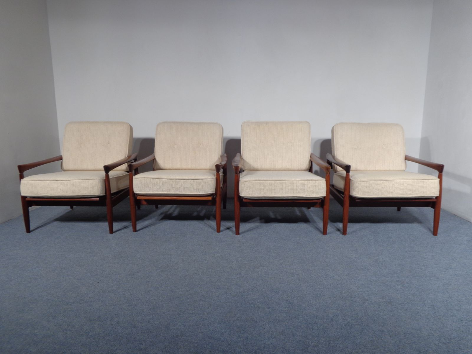 Swedish Teak Lounge Chair By Erik Wörtz For Bröderna Andersson, 1960s