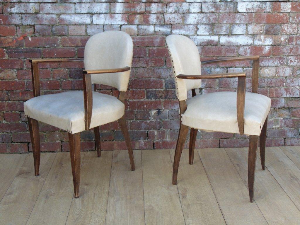 franz sische art deco st hle 1930er 2er set bei pamono kaufen. Black Bedroom Furniture Sets. Home Design Ideas