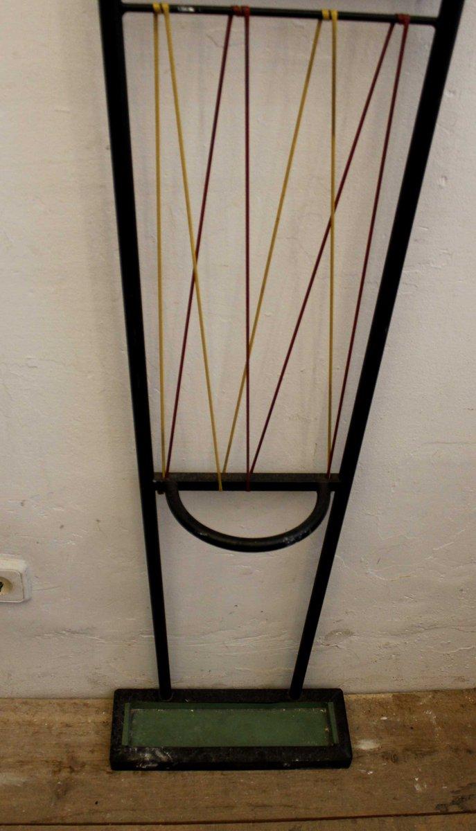 wandgarderobe mit spiegel und schirmst nder bei pamono kaufen. Black Bedroom Furniture Sets. Home Design Ideas