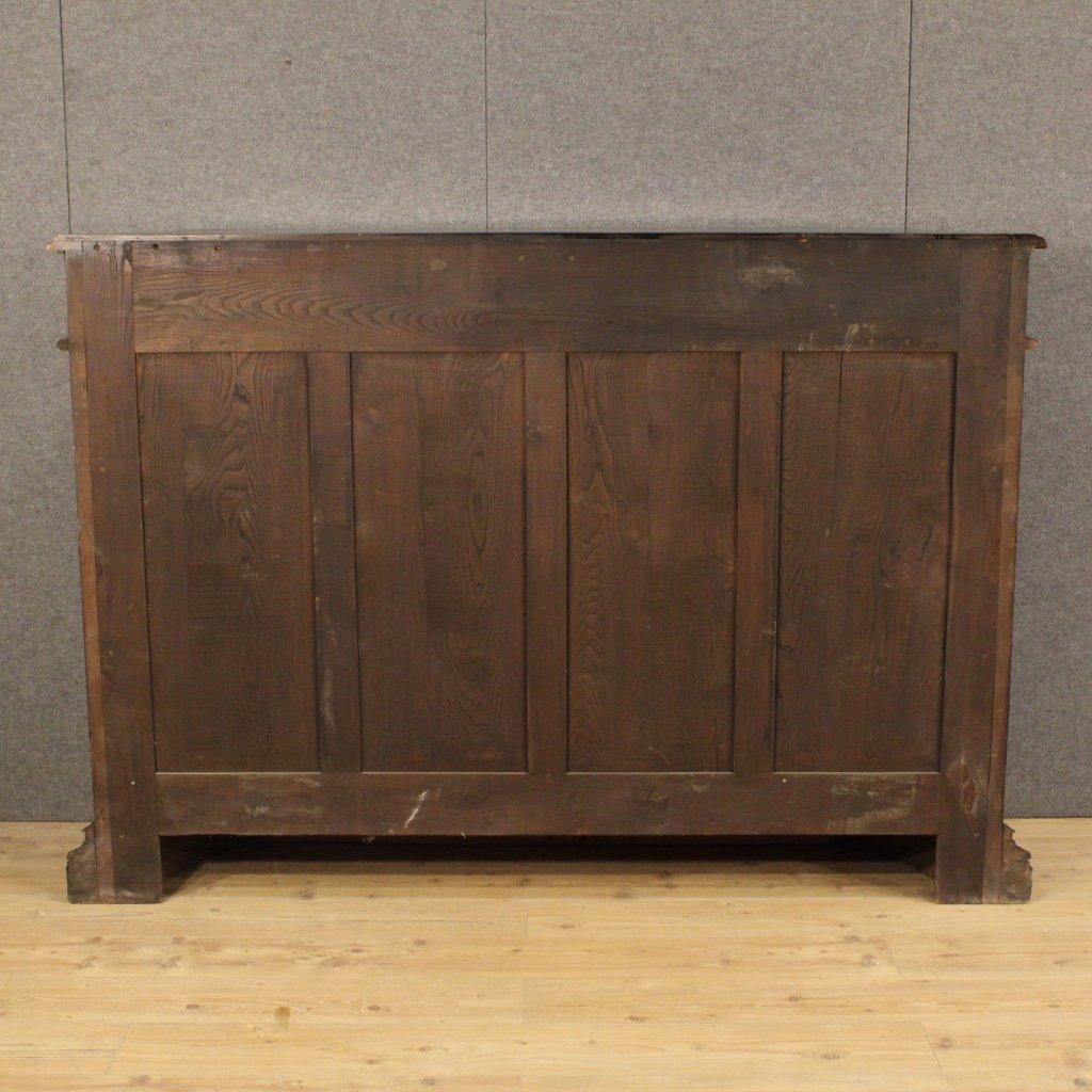 italienisches geschnitztes sideboard aus holz 1950 bei pamono kaufen. Black Bedroom Furniture Sets. Home Design Ideas