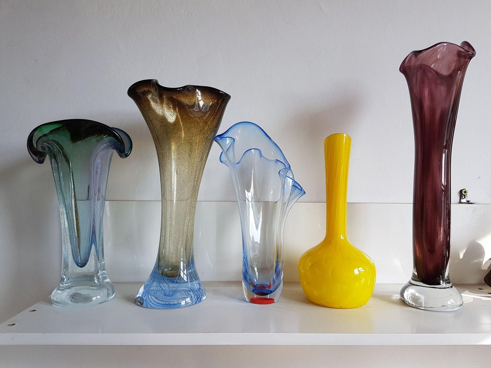 Art glass vase by adam jablonski 1960s for sale at pamono price per piece reviewsmspy