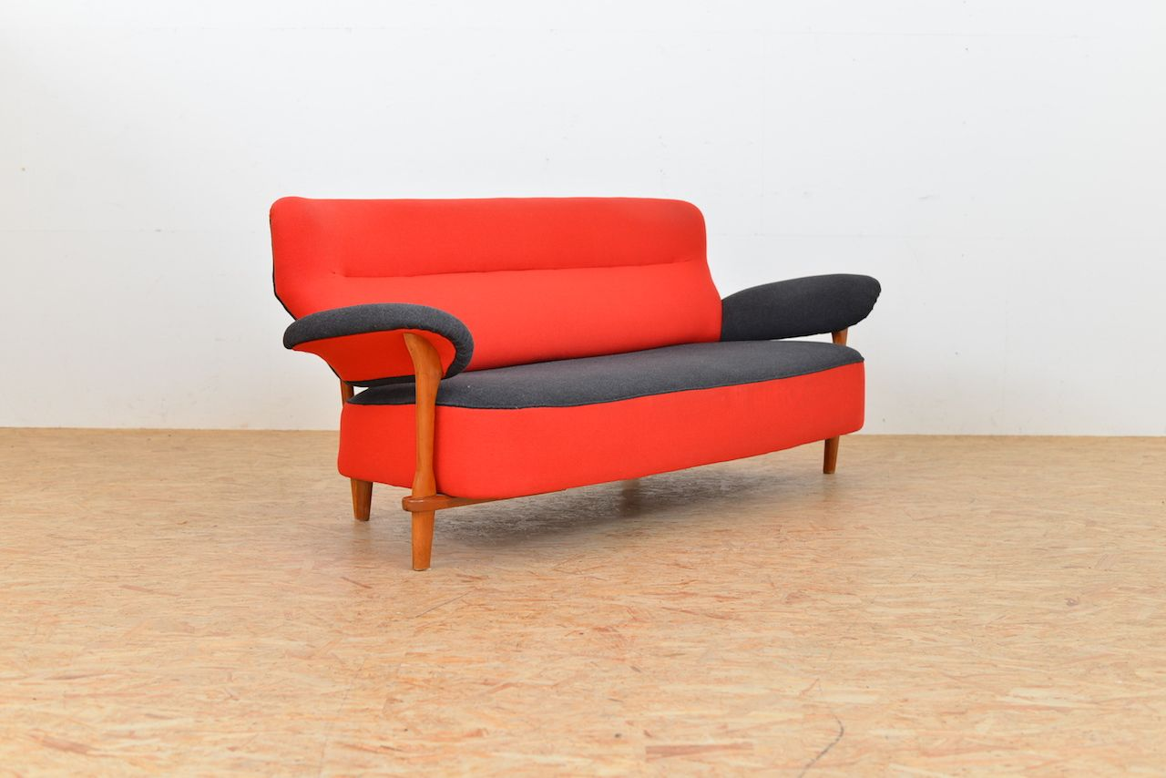 vintage sofa von theo ruth f r artifort bei pamono kaufen. Black Bedroom Furniture Sets. Home Design Ideas