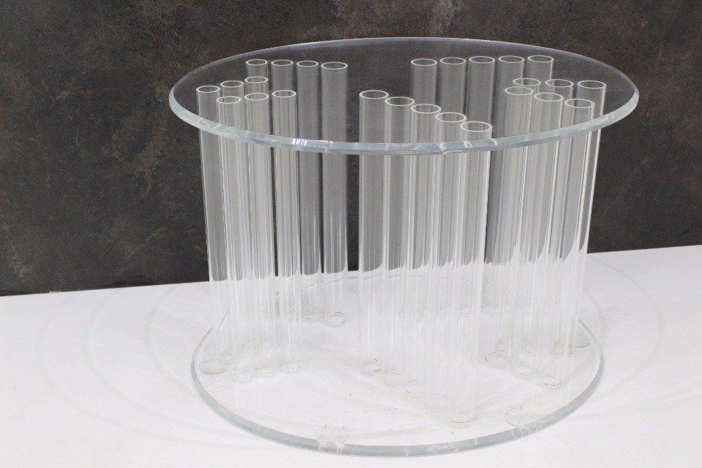 Gro er vintage plexiglas tisch 1970er bei pamono kaufen for Plexiglas tisch design