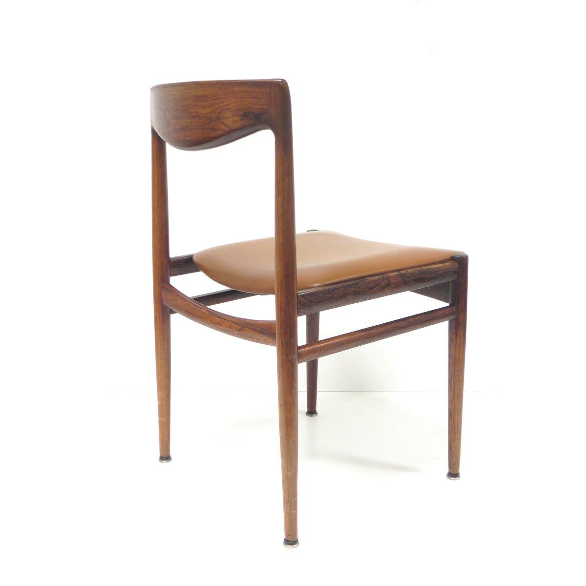 mid century palisander st hle 4er set bei pamono kaufen. Black Bedroom Furniture Sets. Home Design Ideas