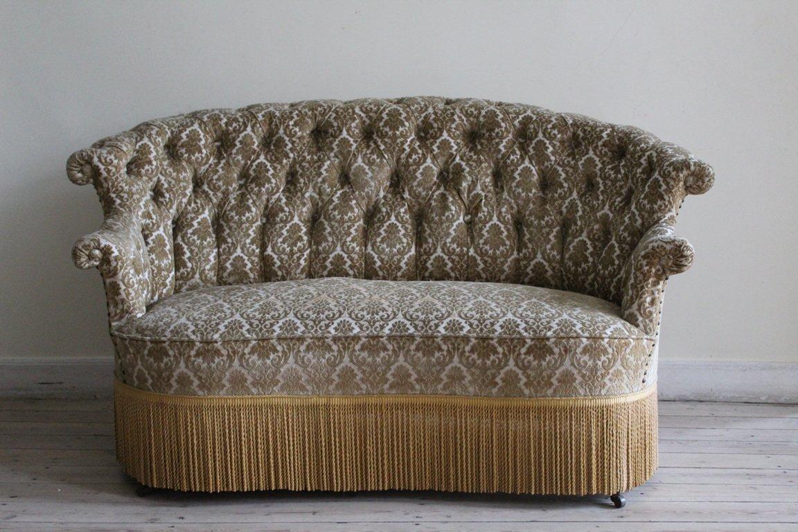 Canapé Antique Napoleon III en vente sur Pamono