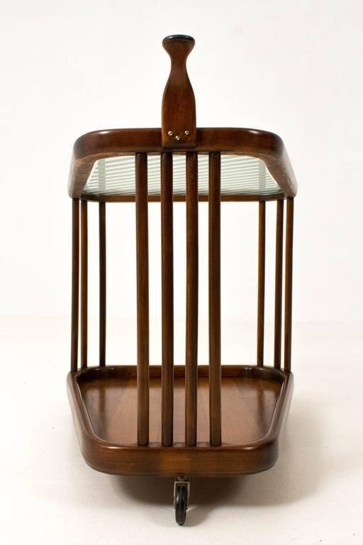 mid century modern servierwagen 1960er bei pamono kaufen. Black Bedroom Furniture Sets. Home Design Ideas