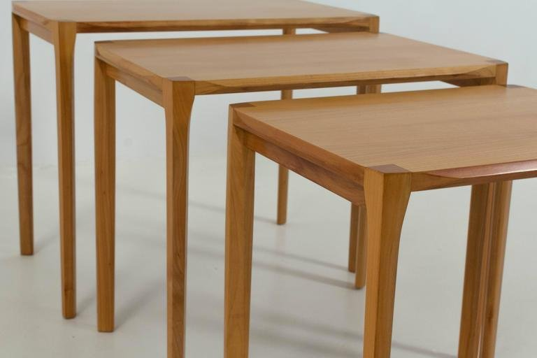 Exceptional Mid Century Modern Nesting Tables By Rex Raab For Wilhelm Renz For Sale At  Pamono