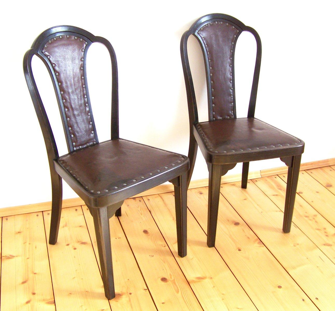 Chaises de salle manger mod le nr 918 par gustav siegel for Modele de chaises salle a manger