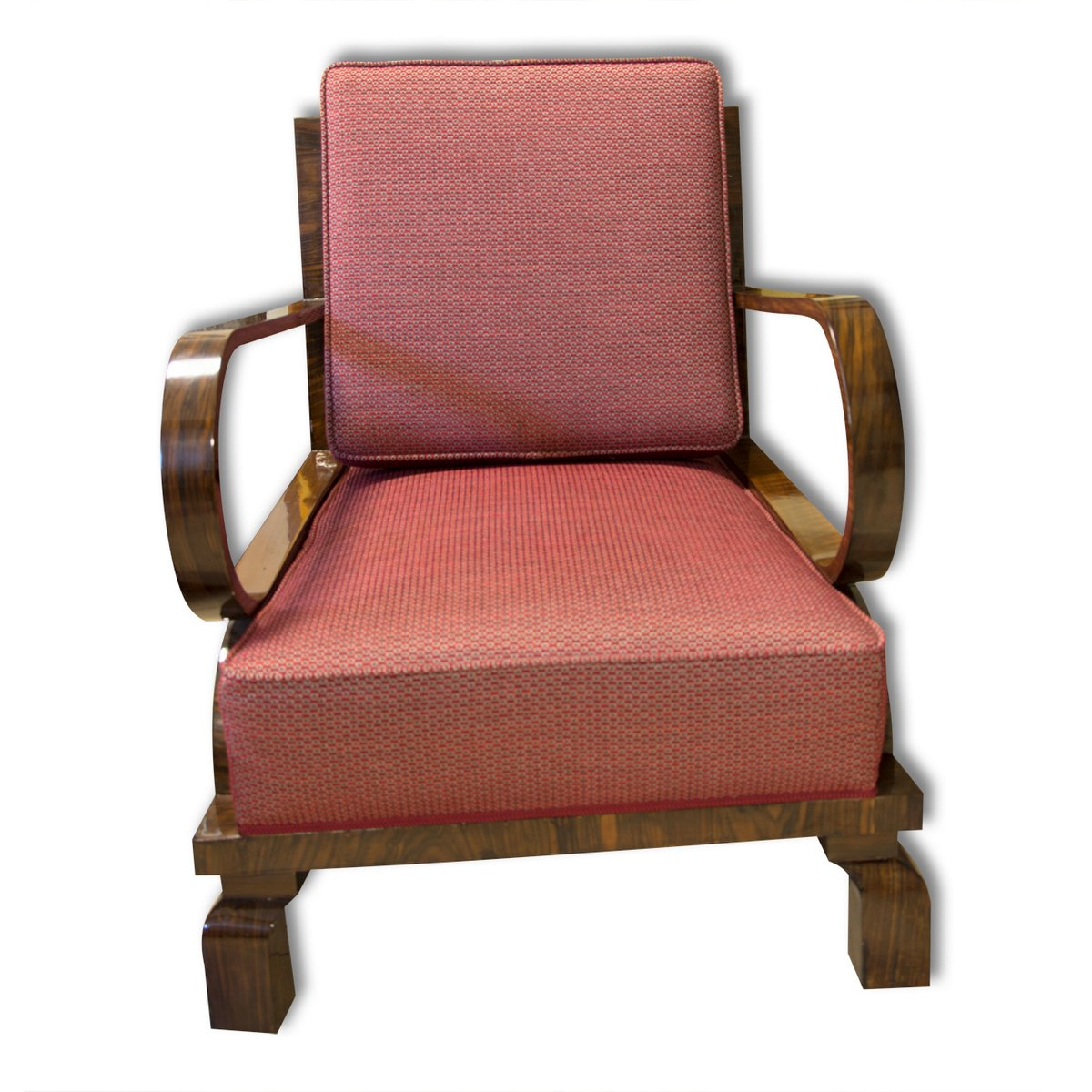 fauteuils art d co r publique tch que 1930s set de 2 en vente sur pamono. Black Bedroom Furniture Sets. Home Design Ideas