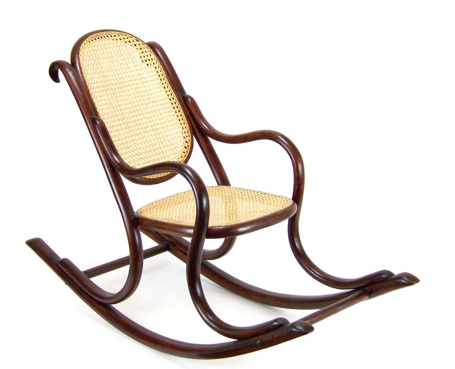 Outdoor Schaukelstuhl children s number 2 rocking chair from fischel 1890s for sale at pamono