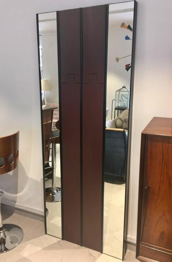Modulare vintage gronda spiegel und garderobe von luciano for Garderobe englisch
