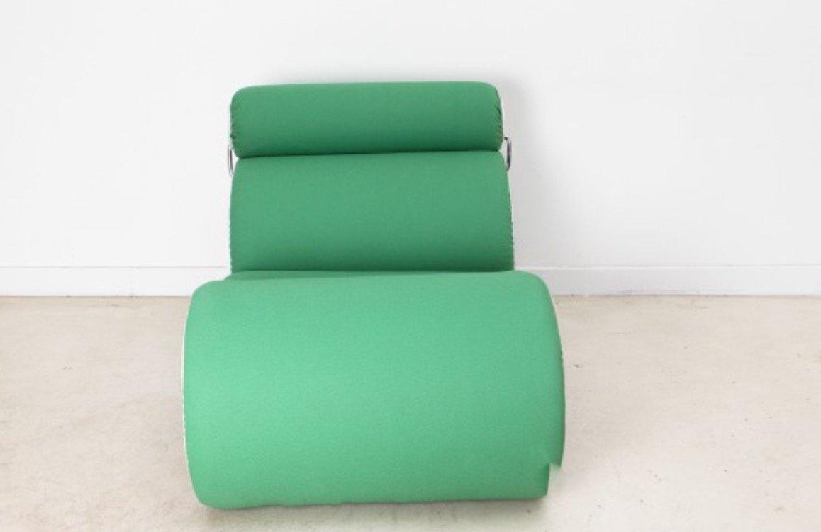 gr ner vintage lounge sessel von joe colombo bei pamono kaufen. Black Bedroom Furniture Sets. Home Design Ideas