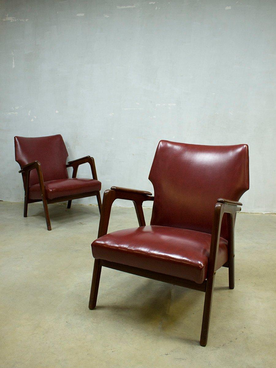 d nischer vintage ohrensessel bei pamono kaufen. Black Bedroom Furniture Sets. Home Design Ideas
