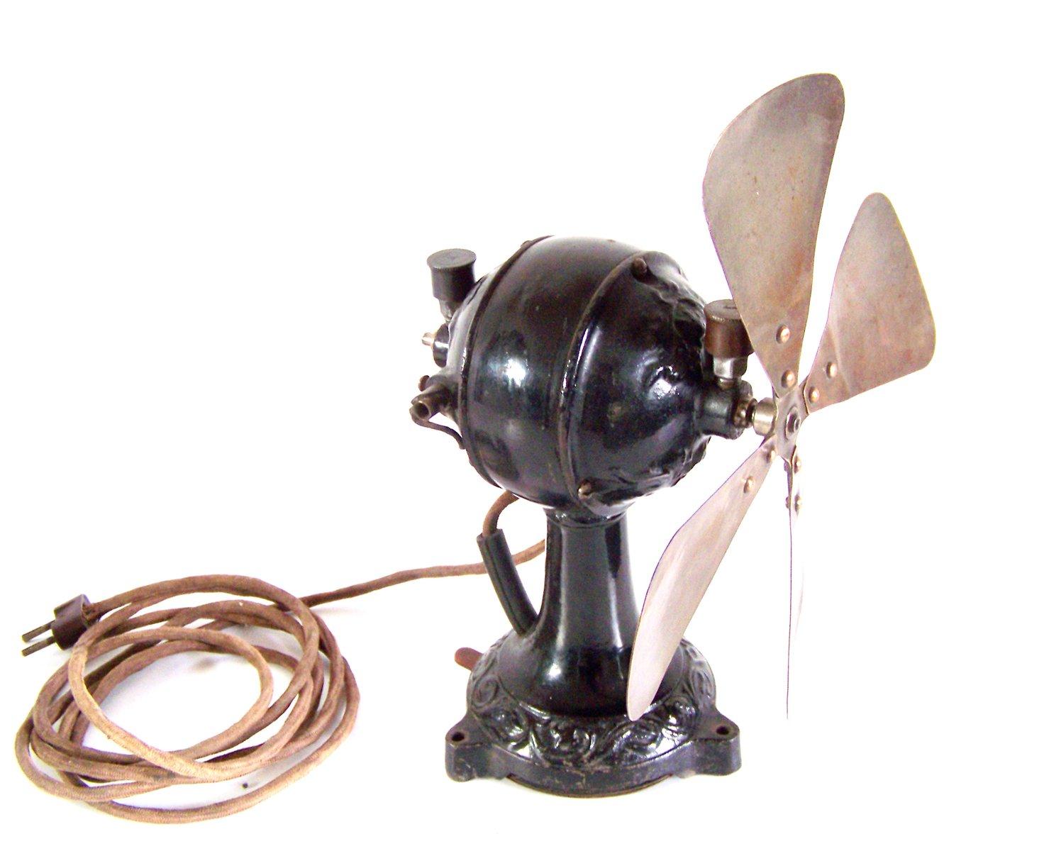 Antique Desk Fan 1910s For Sale At Pamono