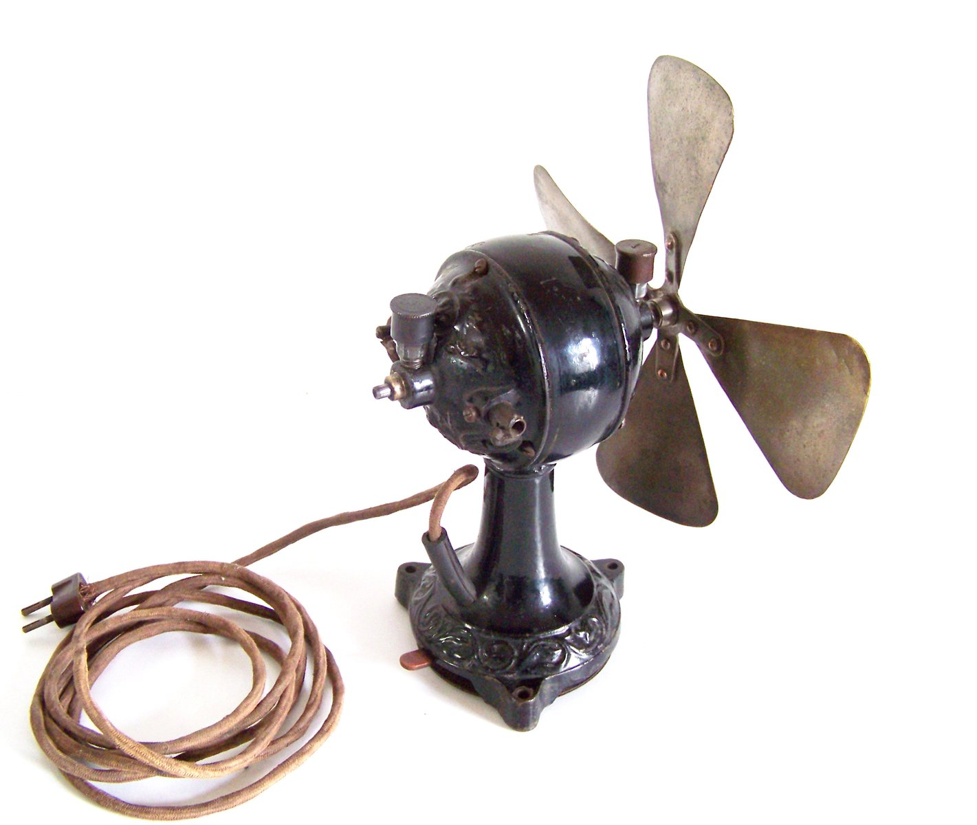 Antique Desk Fan 1910s For Sale At Pamono