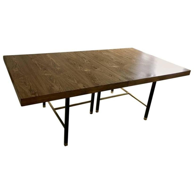 Vintage extendable dining table by harvey probber for sale at pamono vintage extendable dining table by harvey probber watchthetrailerfo