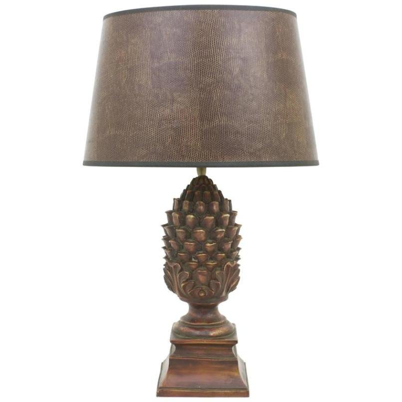 Vintage pineapple table lamp for sale at pamono vintage pineapple table lamp aloadofball Images