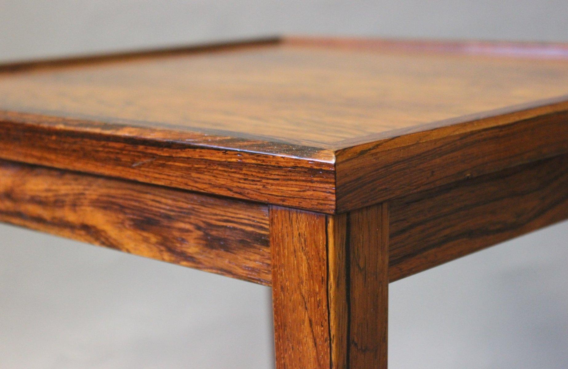 kleiner d nischer beistelltisch aus palisander 1960er bei. Black Bedroom Furniture Sets. Home Design Ideas