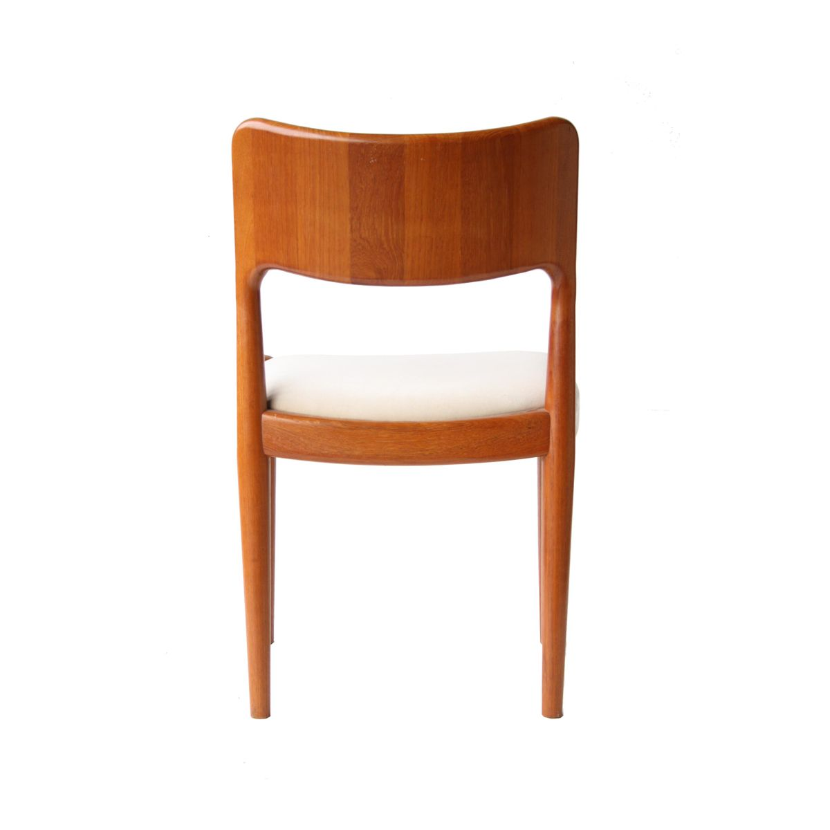 Vintage dining chairs by n o møller set of for sale at