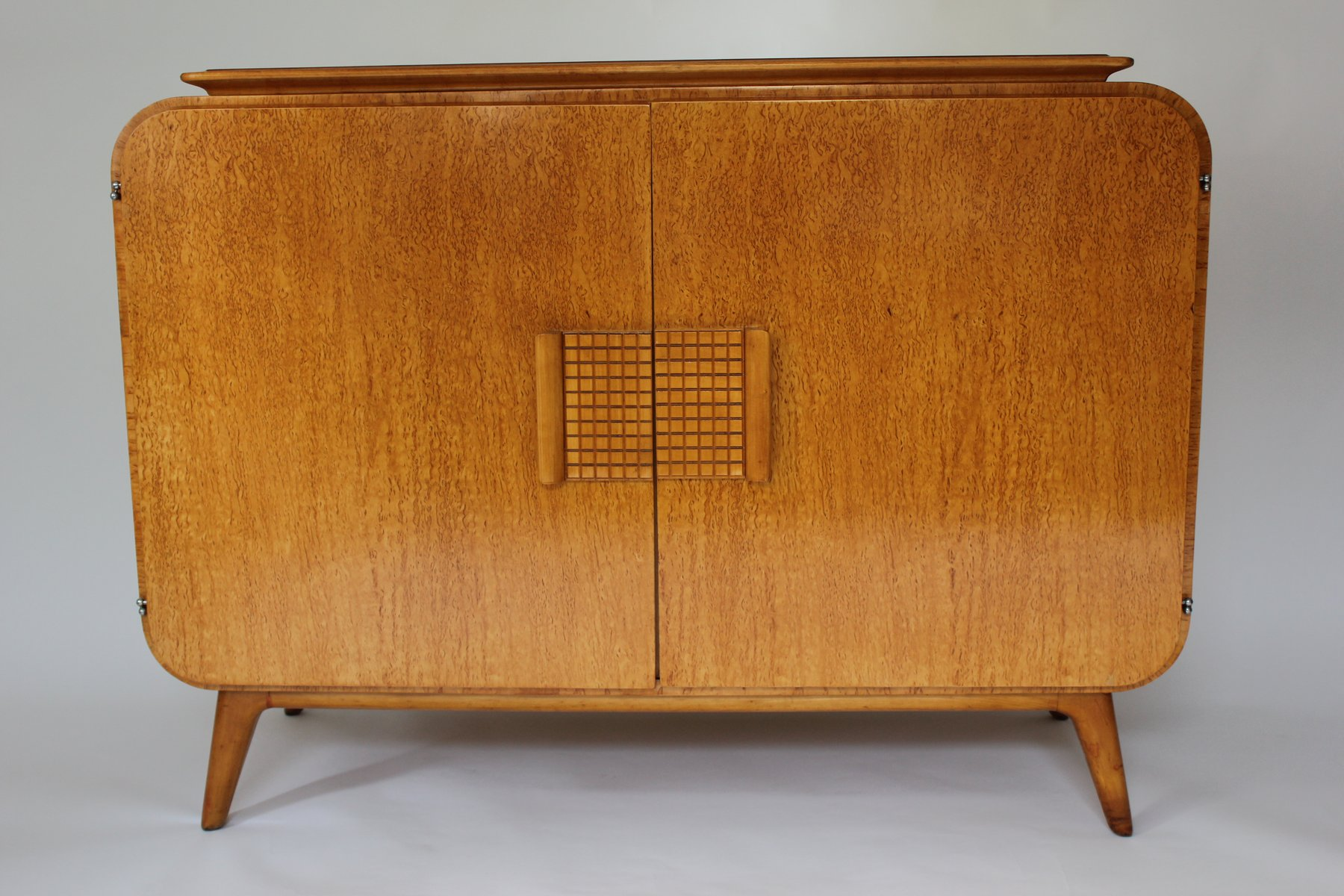 Vintage buffet and vitrine by jindrich halabala for up for Sideboard und vitrine