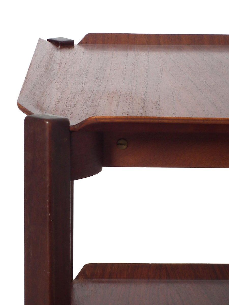 teak servierwagen von cees braakman f r pastoe 1960er bei pamono kaufen. Black Bedroom Furniture Sets. Home Design Ideas