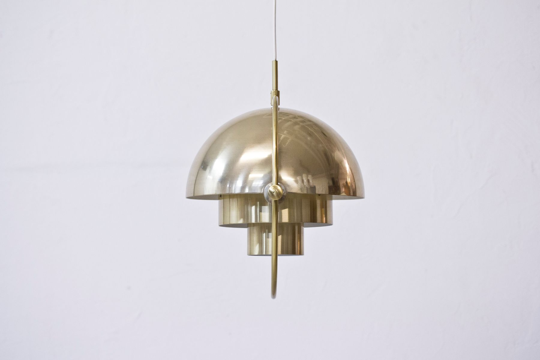 Multi Lite Pendant by Louis Weisdorf for Lyfa 1974 for sale at Pamono