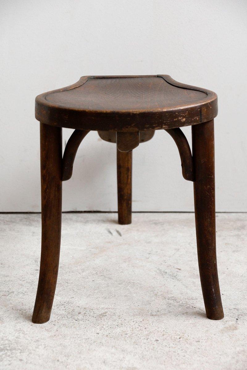 antike bugholz schuhbank von thonet bei pamono kaufen. Black Bedroom Furniture Sets. Home Design Ideas