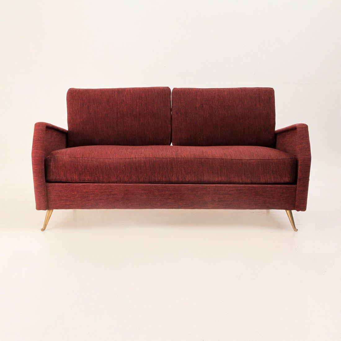 Mid-Century Italian Sofa Bed, 1950s For Sale At Pamono