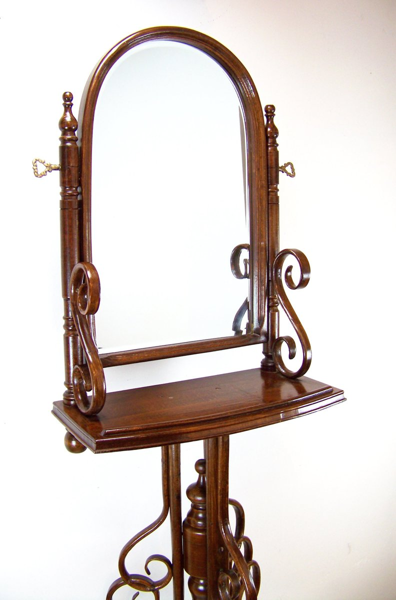 Antique Dressing Table with New Mirror, 1880s - Antique Dressing Table With New Mirror, 1880s For Sale At Pamono