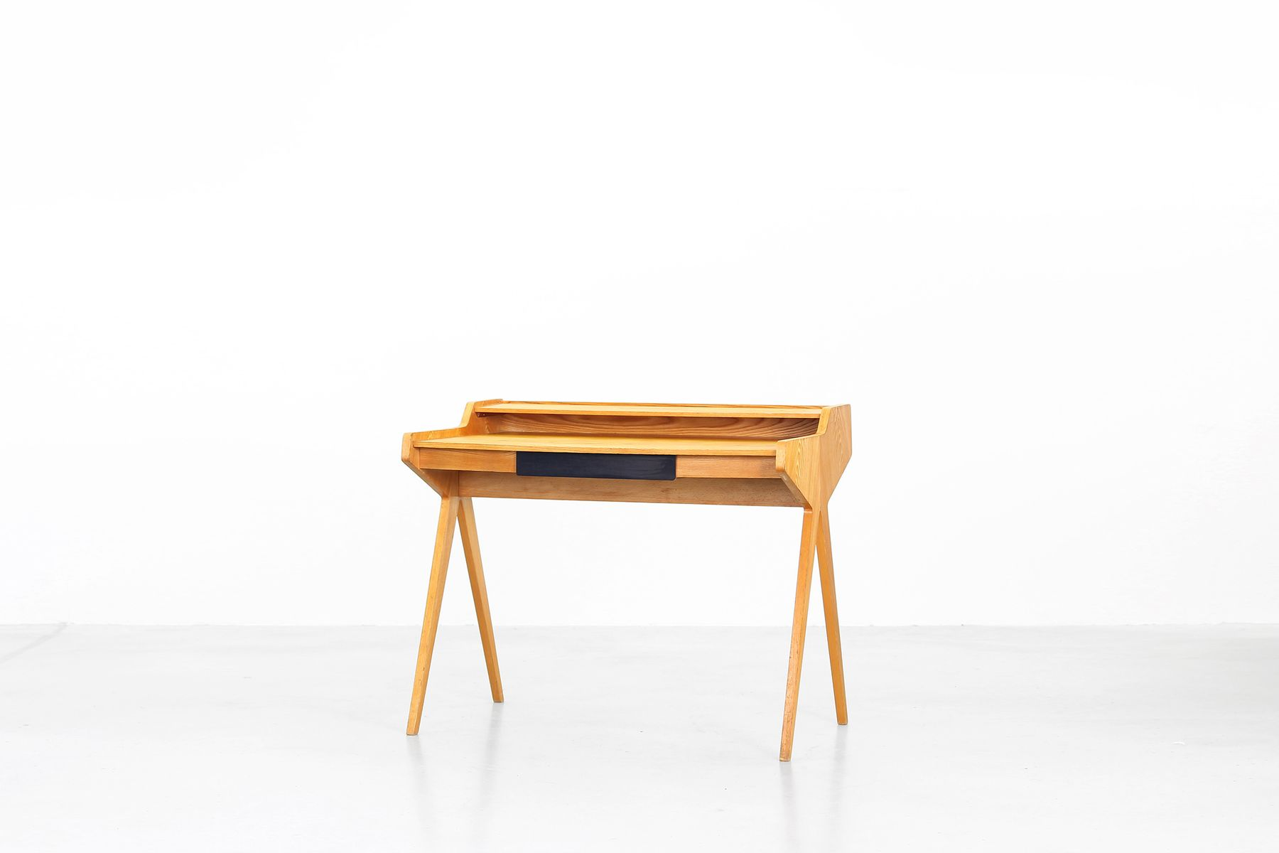 mid century writing desk by helmut magg for wk m bel for. Black Bedroom Furniture Sets. Home Design Ideas