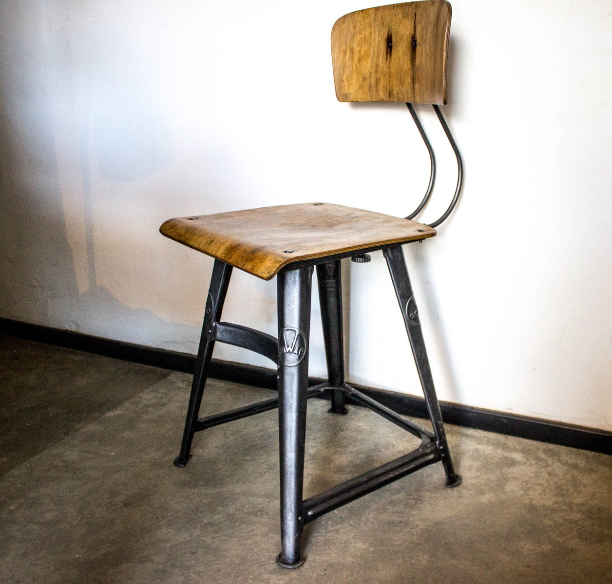 Vintage Desk Chair From Rowac For At Pamono